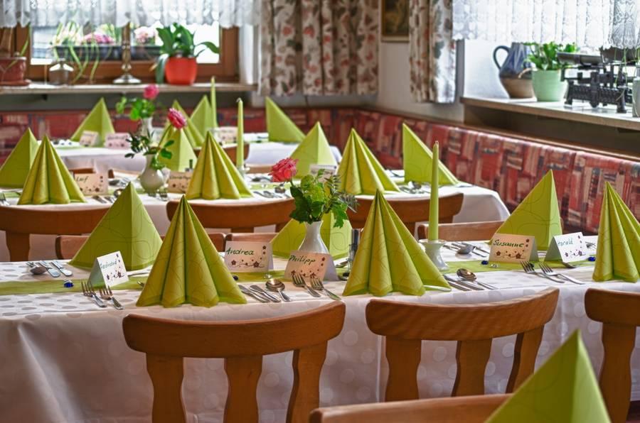 Gaststube Gasthof zur Wolfsschlucht Muggendorf