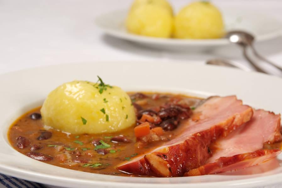 Leckeres Essen im Gasthof zur Wolfsschlucht in Muggendorf